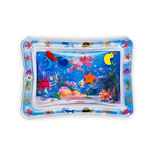 UMFunInflatable Baby Water Mat Fun Activity Play Center for Children Infants ()