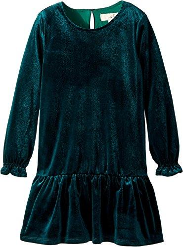 Peek… Baby Girl's Angelina Dress (Toddler/Little Kids/Big Kids) Green LG (8 yrs)