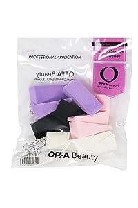 OFFA Beauty 12 Piece Flawless Wedge Makeup Sponge