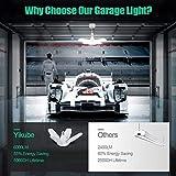 Deformable Led Garage Lights 60W Tribright Led