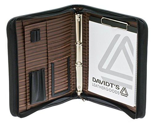 Davidts Aktentasche Business Schreibmappe Tasche Mappe Schwarz 259 090 Bowatex