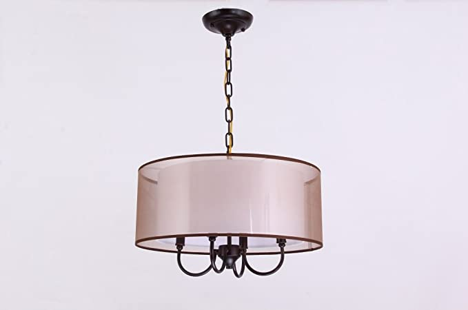 E14 lámpara colgante Modern creativo redondas Lámpara de ...