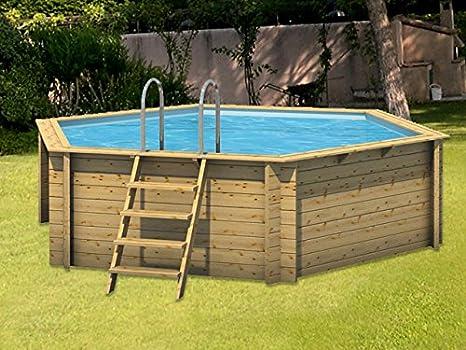 piscine hors sol rectangulaire Pierrefitte-en-Auge (Calvados)
