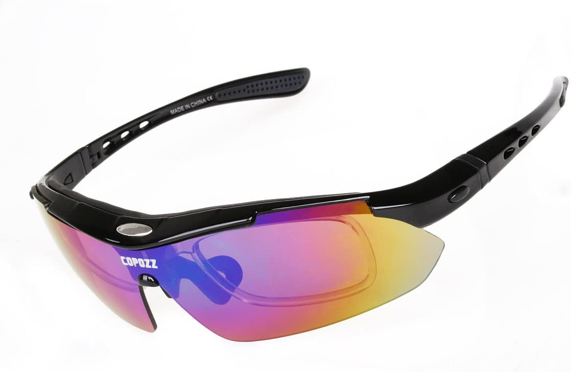 Pro Polarized Glasses Bike 1pc Cycling Sunglasses Goggles MTB Sports 5 Lens  New