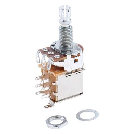 Sharplace Interruptor De Potenciómetro De Guitarra Eléctrica B500K