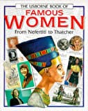 download ebook usborne book of famous women: from nefertiti to thatcher (famous lives series) pdf epub