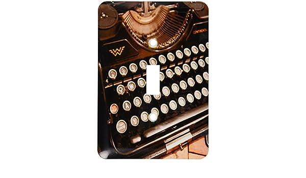 3dRose LLC LSP 29072 _ 1 Continental máquina de escribir, único Toggle Interruptor: Amazon.es: Bricolaje y herramientas