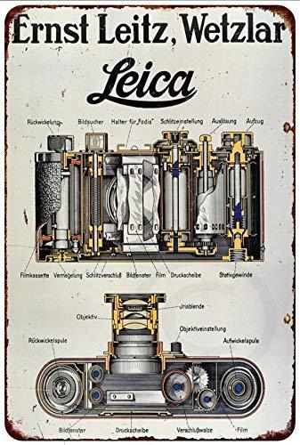 qidushop Leica - Póster de cámara de película Leitz Ernst Wetzlar ...