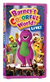 Barneys Colorful World: Live [VHS]