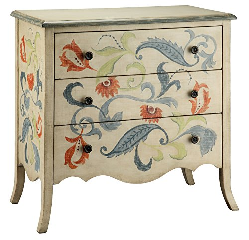 Stein World Furniture Caprice Accent Chest, Multi-Color (Painted Drawer 3 Chest)
