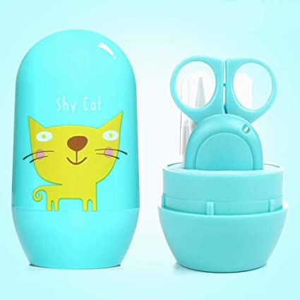 set de manicura bebé, iSuper 4 pieza uñas del bebé y cuidado de la ...