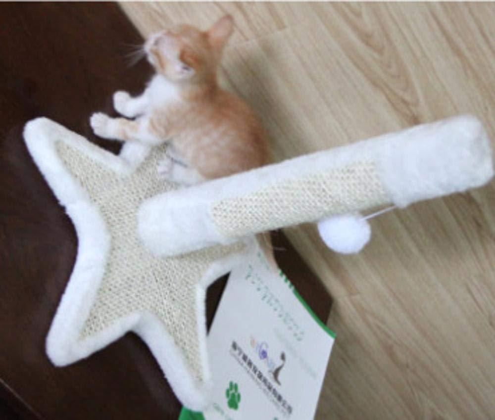 Dixinla Cat climbing frame Small five-star base cat furniture cat tree pet 45  45  54cm Plush