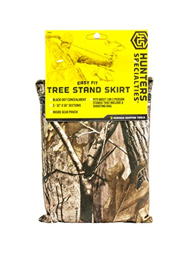 Review Hunters Specialties Easy Fit Treestand Skirt, Realtree Xtra
