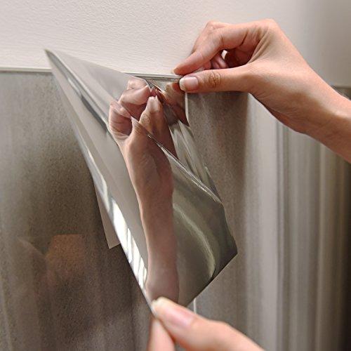 "Self Adhesive Bathroom Ceiling Tiles: SELF ADHESIVE MIRROR TILES 6"" X 6"" (SET OF 20)"