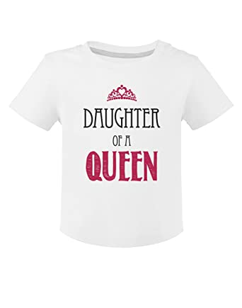 06956ff05 Green Turtle T-Shirts Camiseta para niños - Daughter of a Queen - Día de la  Madre Regalo Original  Amazon.es  Ropa y accesorios