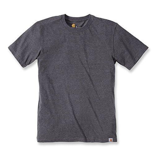 Carhartt Maddock Basic T-Shirt - Arbeitsshirt - Carbon Heather M