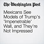 Mexicans See Models of Trump's 'Impenetrable' Wall, and They're Not Impressed | Joshua Partlow