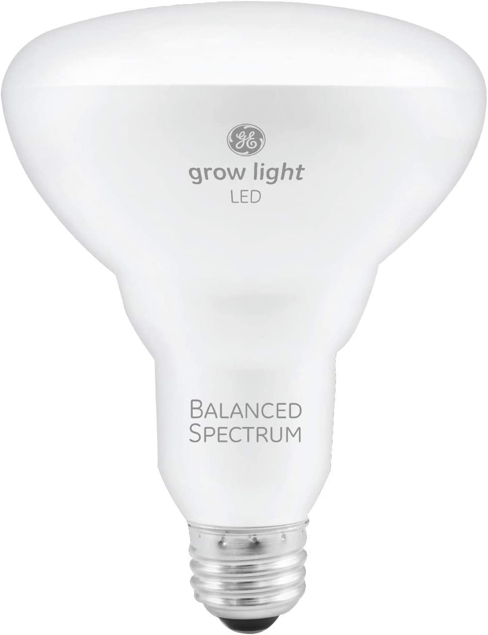 GE Lighting 93101230 9-Watt BR30 LED Grow Light Bulb for Indoor Plants, Balanced Full Spectrum