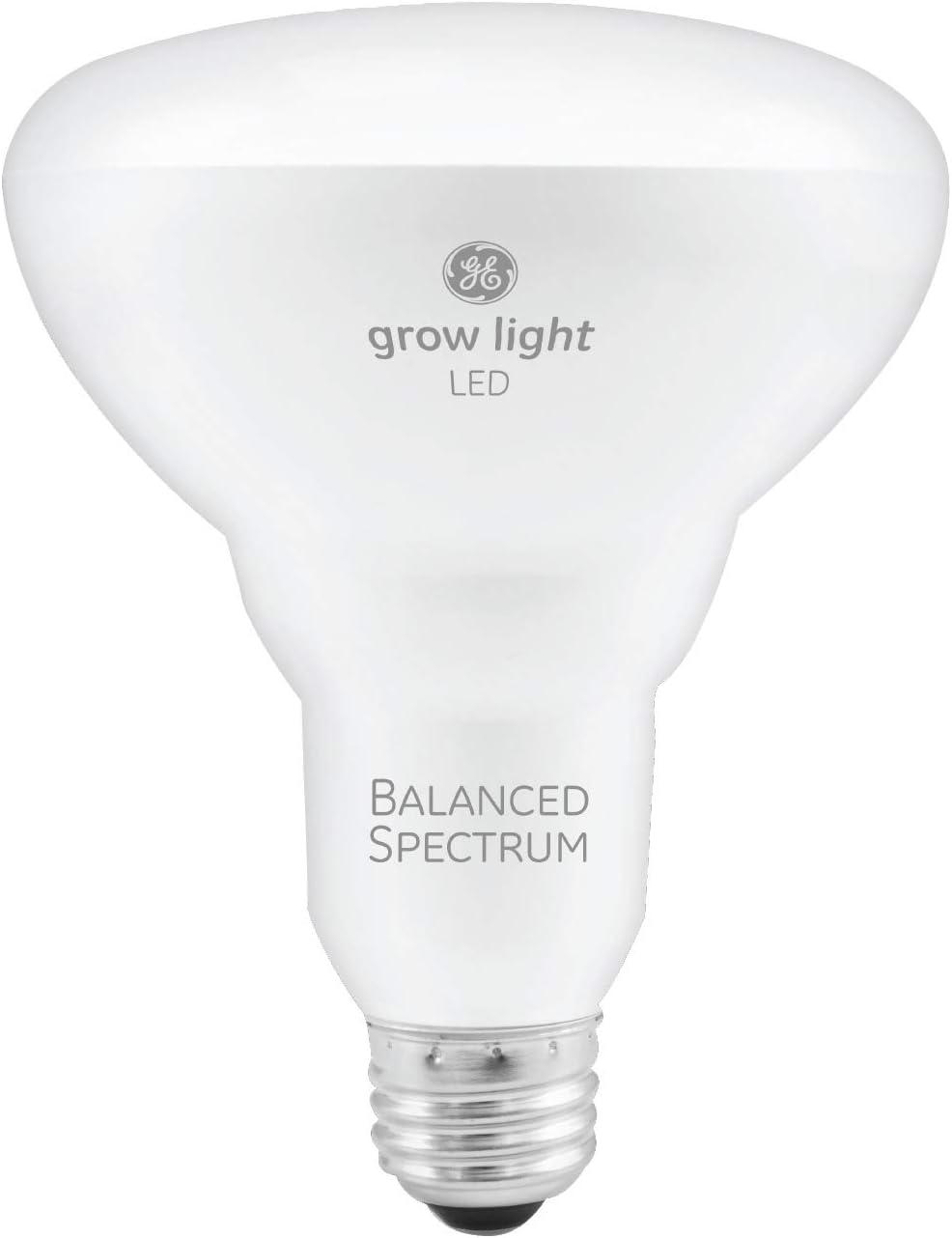 Amazon Com Ge Lighting Br30 Full Spectrum Led Grow Light Bulb For