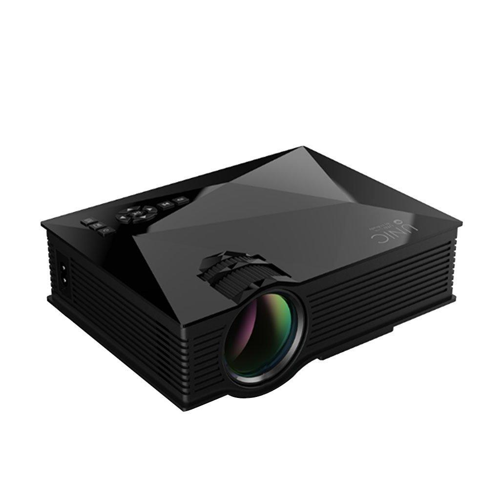MagiDeal UC46 Multimedia Mini LED Proyector Bluetooth HD 1080p Cine en Casa con WiFi 2, 4 G Inalá mbrico EU Plug 4 G Inalámbrico EU Plug STK0151006458