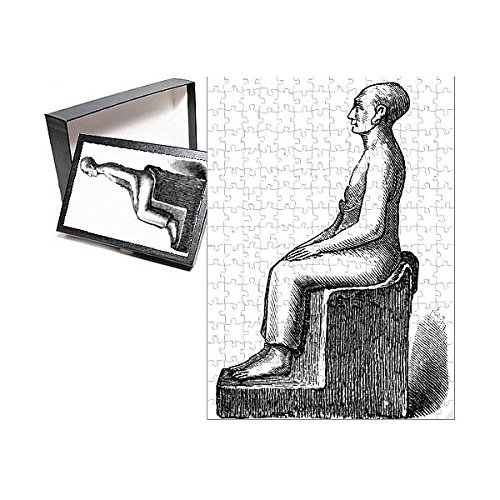 (Media Storehouse 252 Piece Puzzle of Seated Statue of a Man (13590637))