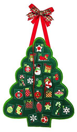 Door Decor Advent Tree from Evergreen Flag