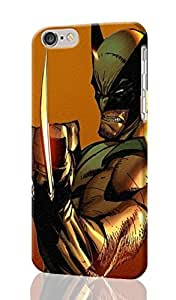 Wolverine Pattern Image - Protective 3d Rough Case Cover - Hard Plastic 3d Case - For iphone 5C -