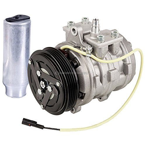 OEM AC Compressor w/A/C Drier For Geo Metro 1989 1990 1991 1992 1993 1994 - BuyAutoParts 60-87148R4 New