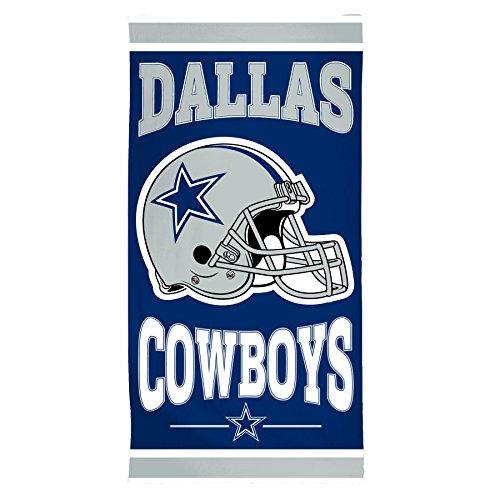 Wincraft NFL Dallas Cowboys Fiber Beach Towel, 30