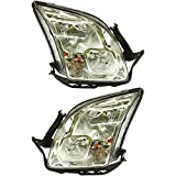 ford fusion headlight assembly - Evan-Fischer EVA13572055256 Headlight Set Of 2 For Fusion 06-09 Right and Left Side Assembly Halogen