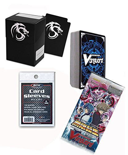 CardfightNeo Nectar 50 Cards Player Kit Deck Box & Sleeves + - Card Get Nectar