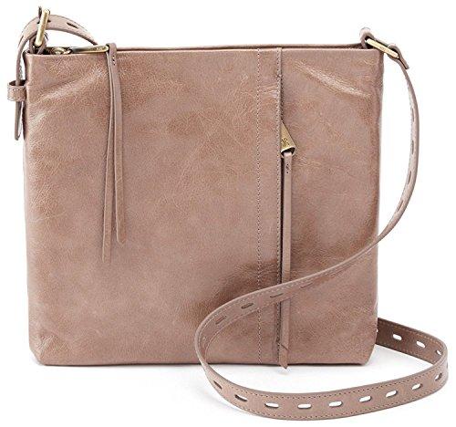 Hobo Women's Vintage Hide Drifter Crossbody Bag (Ash) by HOBO
