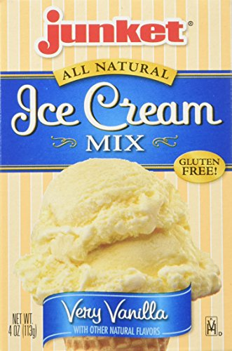 - Junket Vanilla Ice Cream Mix,  4-Ounce Boxes (Pack of 12)