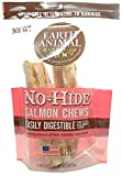 Earth Animal No-Hide Salmon Chews 7'' (Package Contains 2 Chews)