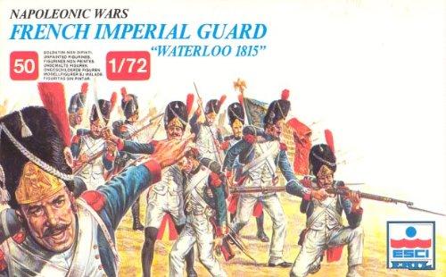 ESCI ERTL 1:72 Napoleonic Wars - Waterloo 1815 French Imperial Guard Model Kit #214