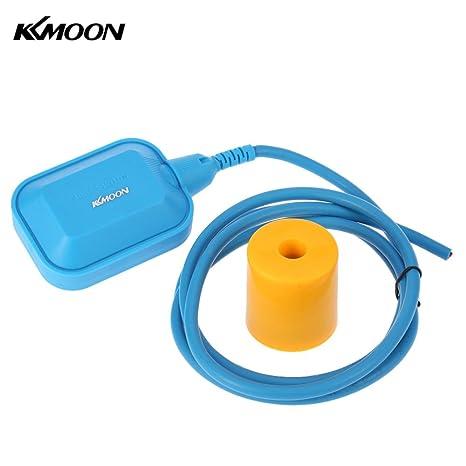 KKmoon 2 m automático cuadrado interruptor de flotador alta temperatura resistente Cable Líquido Sensor De Nivel