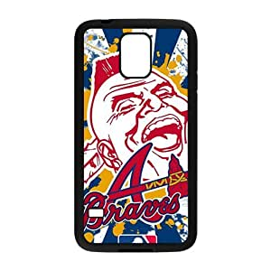 Atlanta Braves Design Hard Case Cover Protector For Samsung Galaxy S5