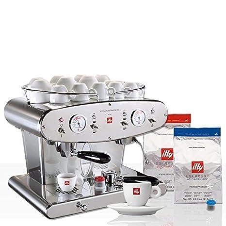 Illy FrancisFrancis. x2.1 Twin Group ipere mediaespresso Professional para principiantes (: Amazon.es: Hogar