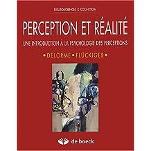 Perception et realite neurosciences et co.