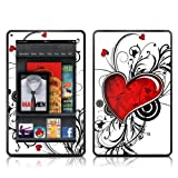 Kindle Fire Skin Kit/Decal - My Heart (will not fit HD or HDX models)