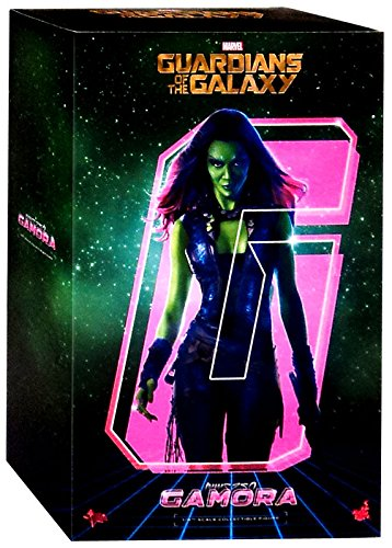 Zoe Saldana Guardians Of The Galaxy Costume - Marvel Guardians of the Galaxy Movie Masterpiece Gamora 1:6 Collectible Figure