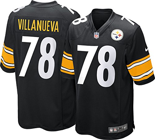 check out f34aa c5c6a Nike NFL Pittsburgh Steelers Game Jersey Alejandro Villanueva #78
