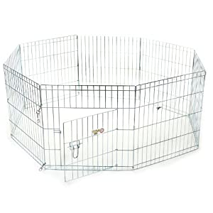 24 inch Exercise Pen by Majestic Pet Products Small Click on image for further info.