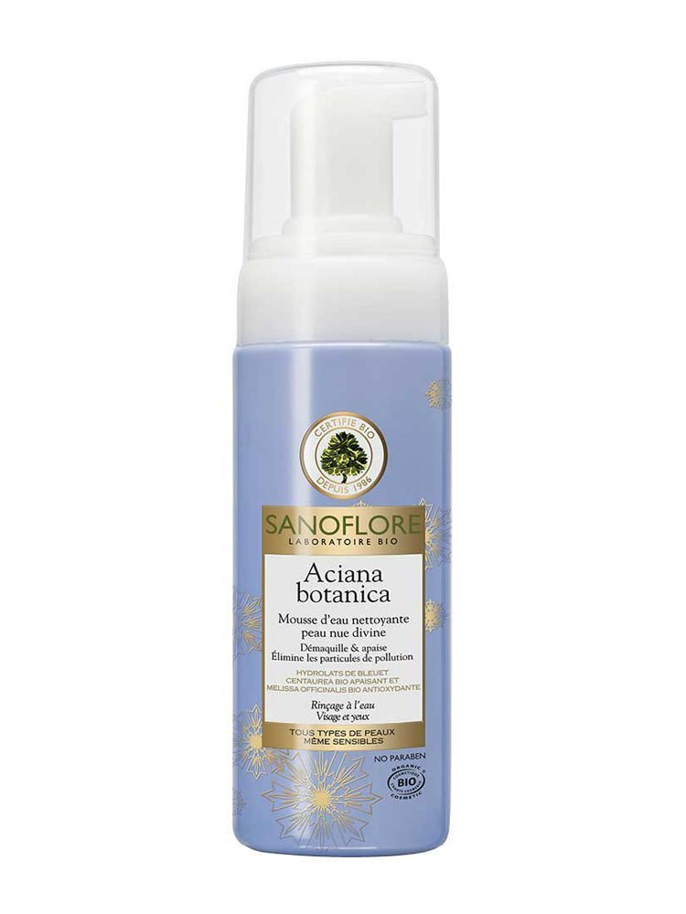 Sanoflore Aciana Botanica Cleansing Water Foam 150ml 7350