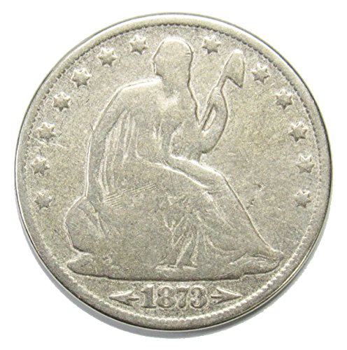 1873 Seated Liberty Half Dollar w/Arrows 50¢ Good