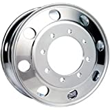 c5500 765422 Alcoa 19.5 x 6.75 Polished Rear Dual 8 on 275mm GM c4500