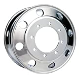Accuride 22.5'' x 8.25'' Polished Aluminum 8 Lug Front Steer Wheel (29348AOP)