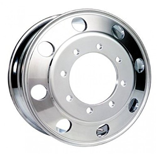 Accuride 19.5'' Polished Wheel Package 8 on 275mm GM or Chevy c4500 / c5500 by Accuride (Image #1)