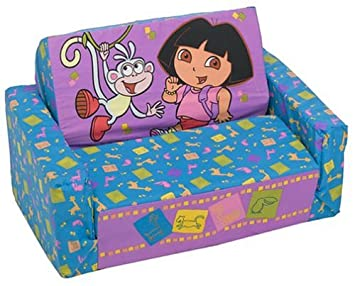 Prime Dora The Explorer Flip Open Sofa With Slumber Bag Machost Co Dining Chair Design Ideas Machostcouk