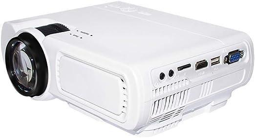 HLKYB Mini proyector, Full HD proyector LED el más Grande es 1080P ...